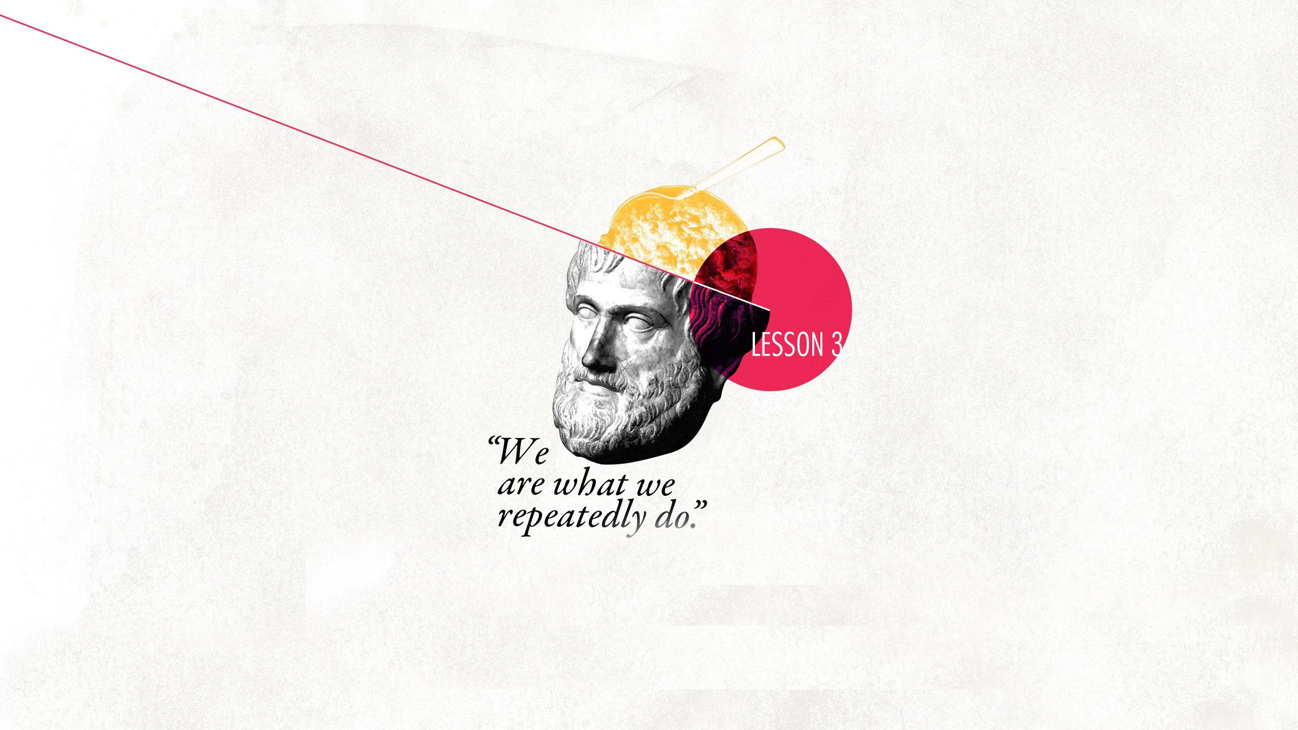 Philosophical quote Wallpaper 8144 2560x1440