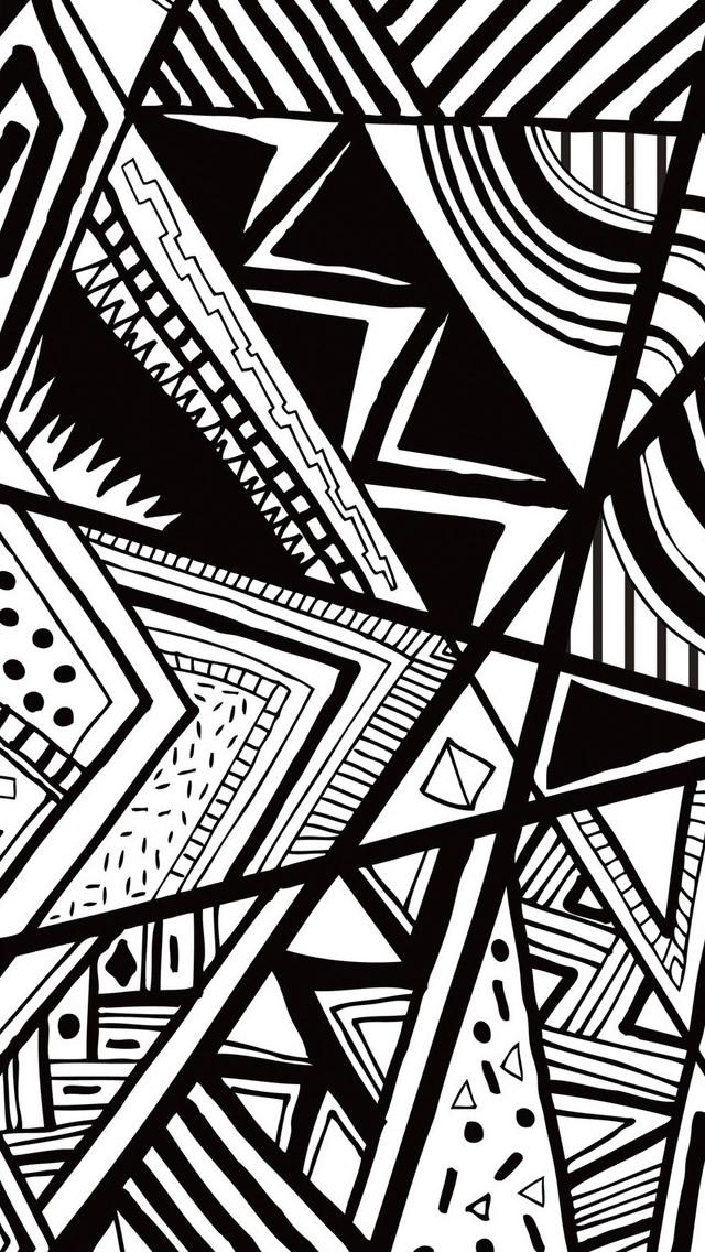 49 Black And White Iphone Wallpaper On Wallpapersafari