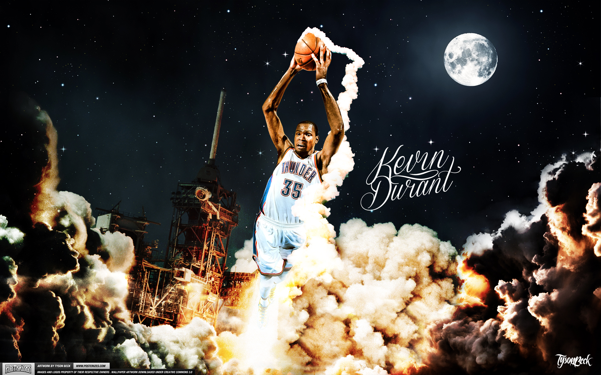 Kevin Durant Wallpapers HD 1920x1200