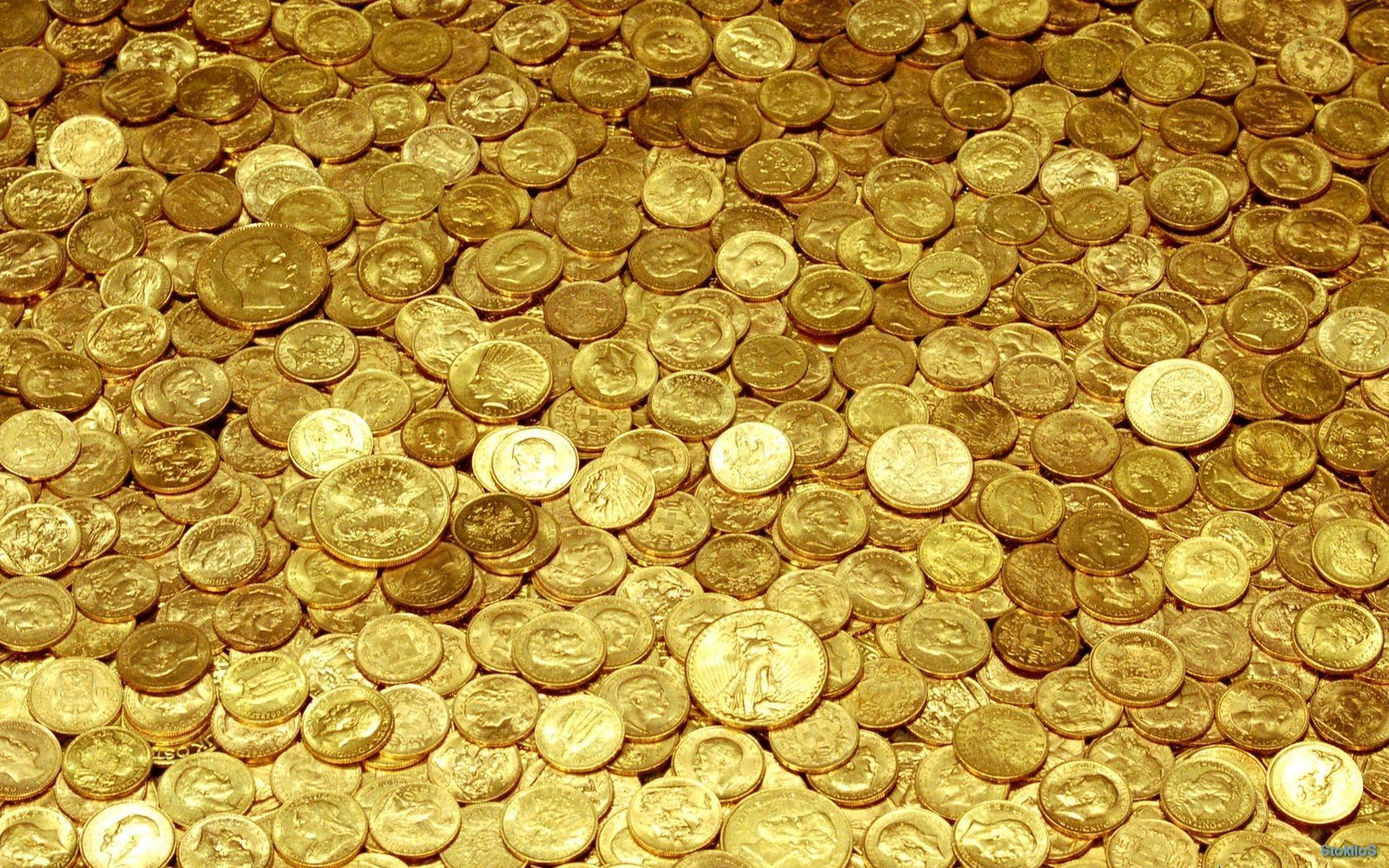 Gold Coins Wallpapers   Top Gold Coins Backgrounds 1920x1200