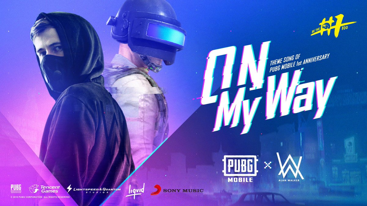 Alan Walker on Twitter Happy birthday PUBGMOBILE Our 1200x675