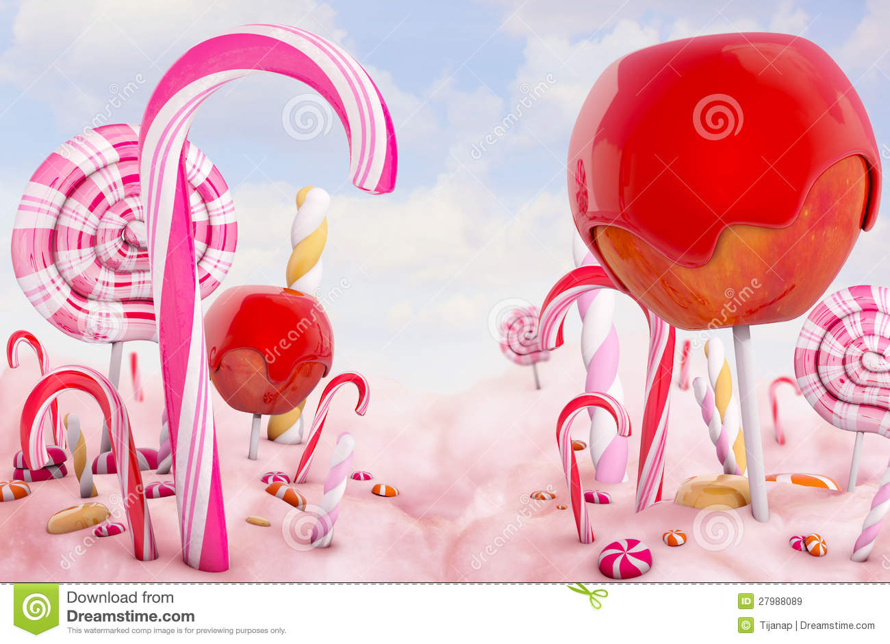 candy land wallpaper wallpapersafari