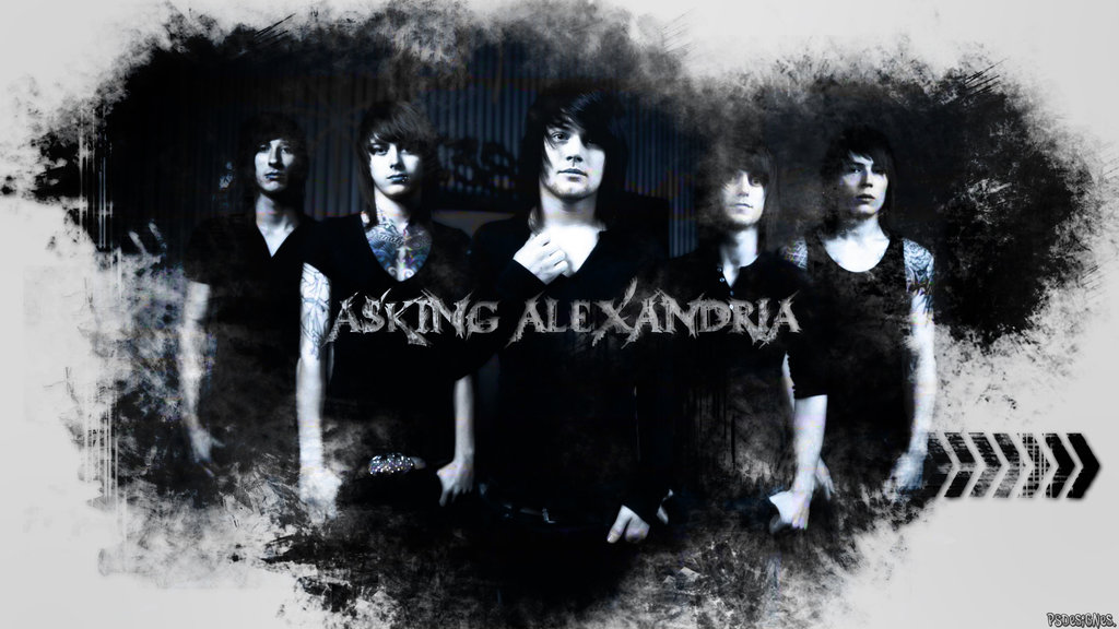 Asking Alexandria wallpaper HD by PSdesignes 1024x576