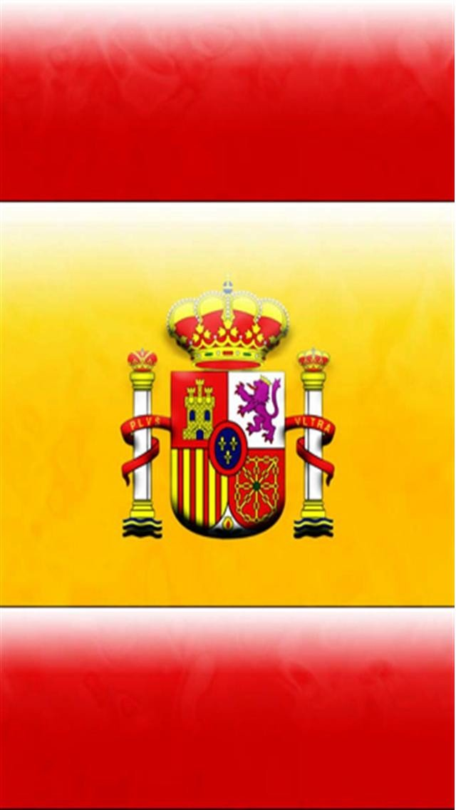 Spain National Football Team LOGO iPhone Wallpapers 640x1136