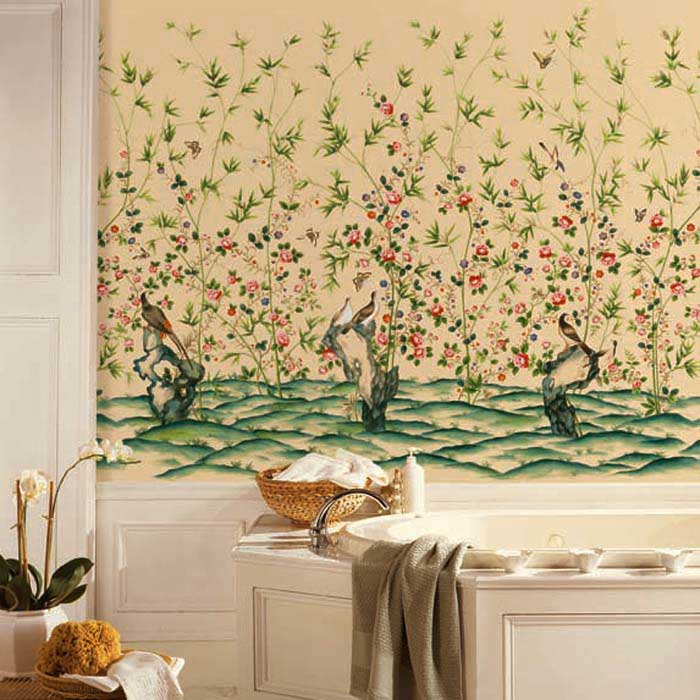 Its Three Thirty De Gournay Wallcoverings and a look a like 700x700