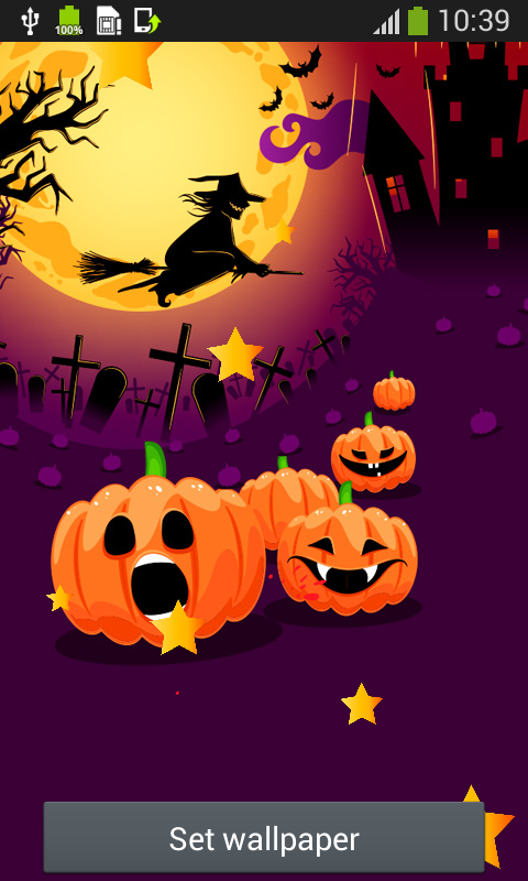 Witch Live Wallpapers app download for Android 480x800
