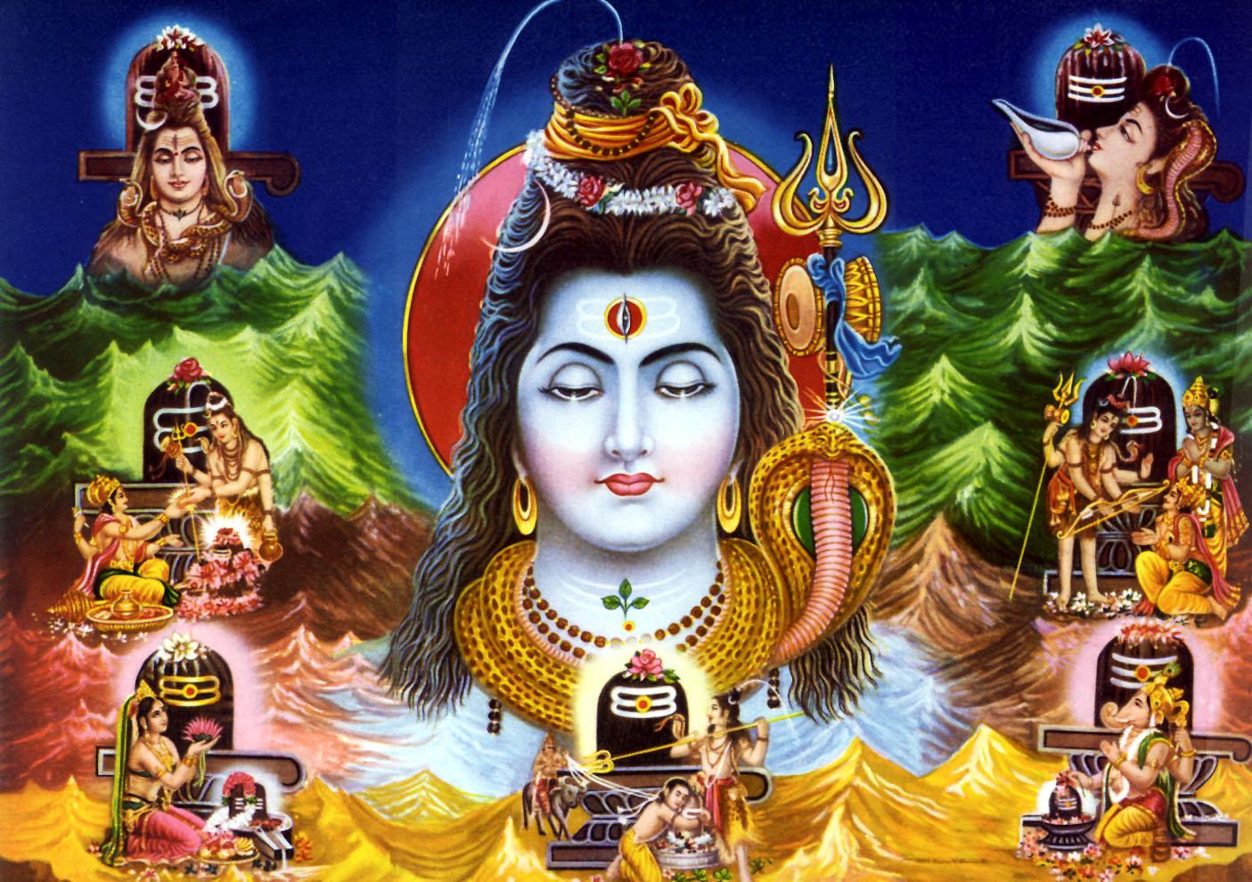 Indian God Photographs Shivji 1405x990