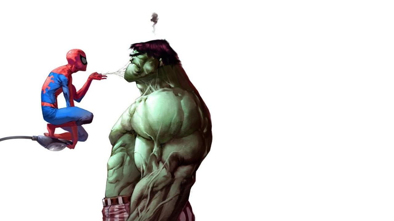 Spiderman and Hulk comic comics wallpapers Spiderman and Hulk 1280x720