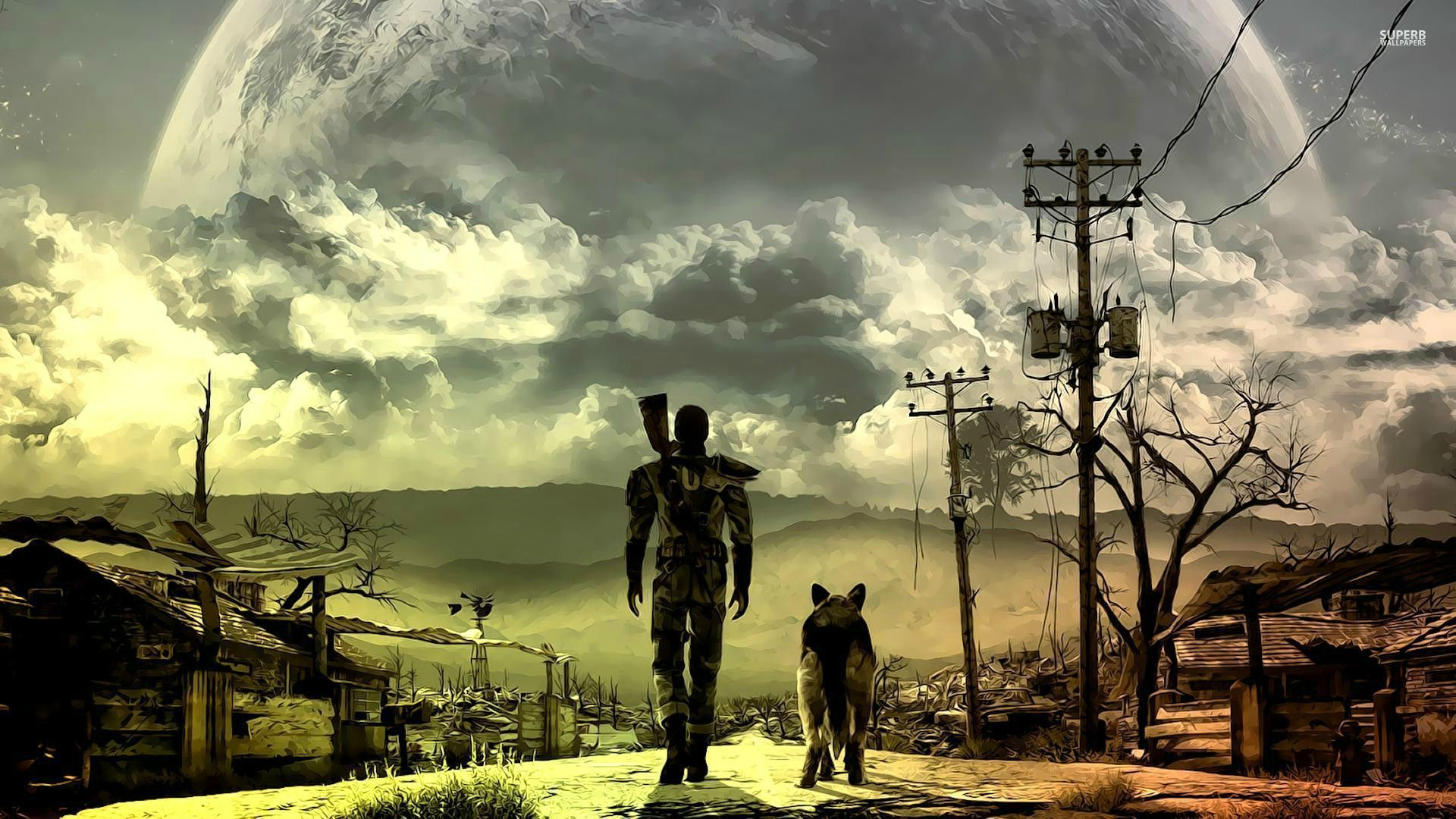 Fallout 4 Being Shown at E3 1920x1080