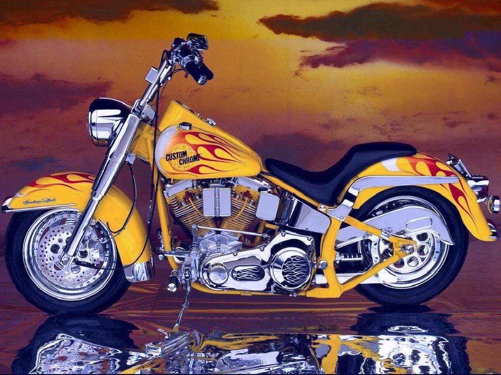 THE MOTORCYCLE Best Harley Davidson Wallpaper 1024x768