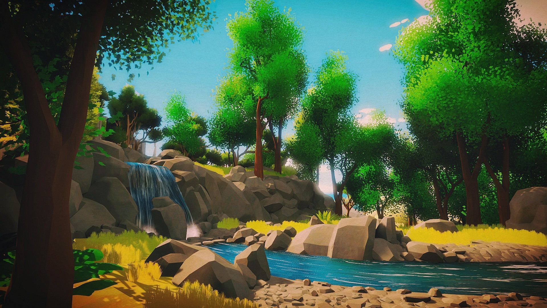 The Witness Video Games Artwork PlayStation 4 Wallpapers HD 1920x1080