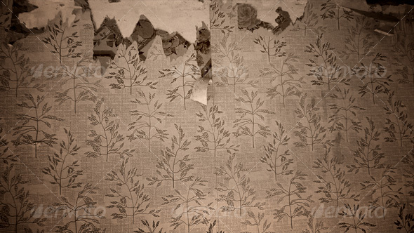 patterned wallpaper peeling off The color can be changed very easily 590x332