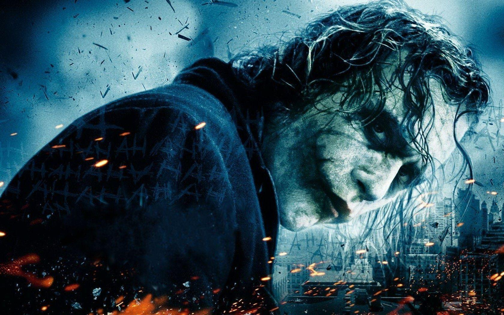 Heath Ledger Joker Wallpapers 1680x1050