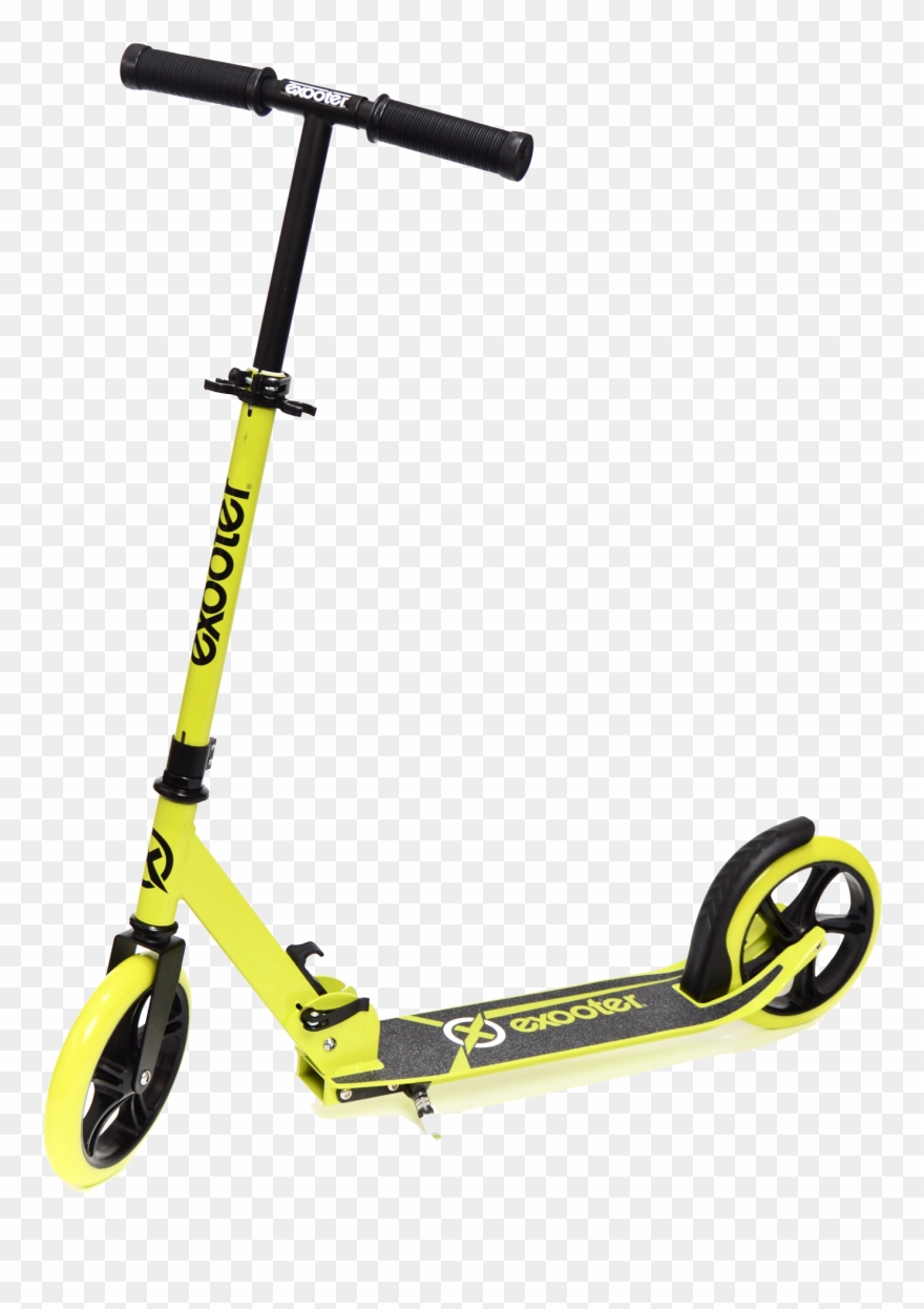Scooter Clipart Transparent Background   Scooter Big Wheel Yellow 880x1246