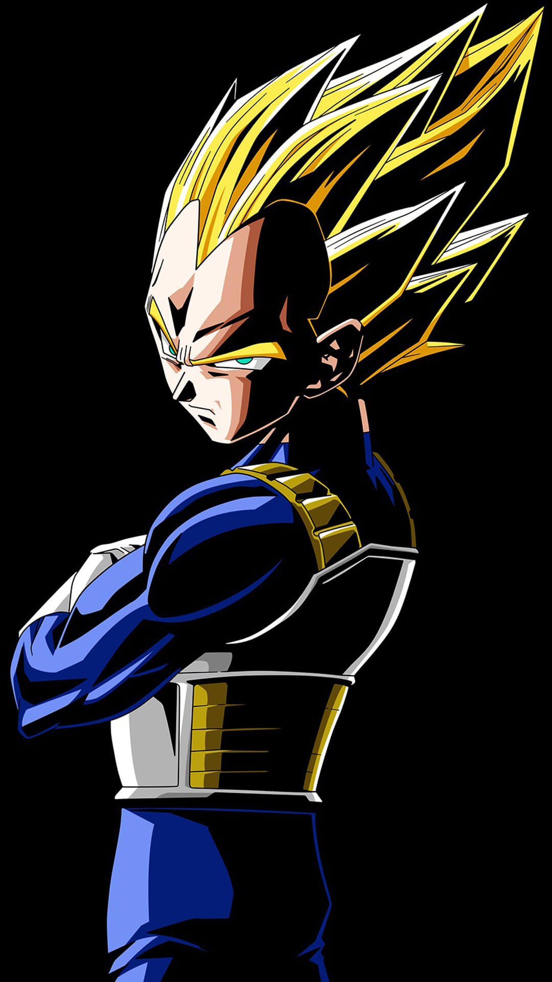 Dragon Ball Z Vegeta Iphone Wallpaper HD4Wallpapernet 1080x1920