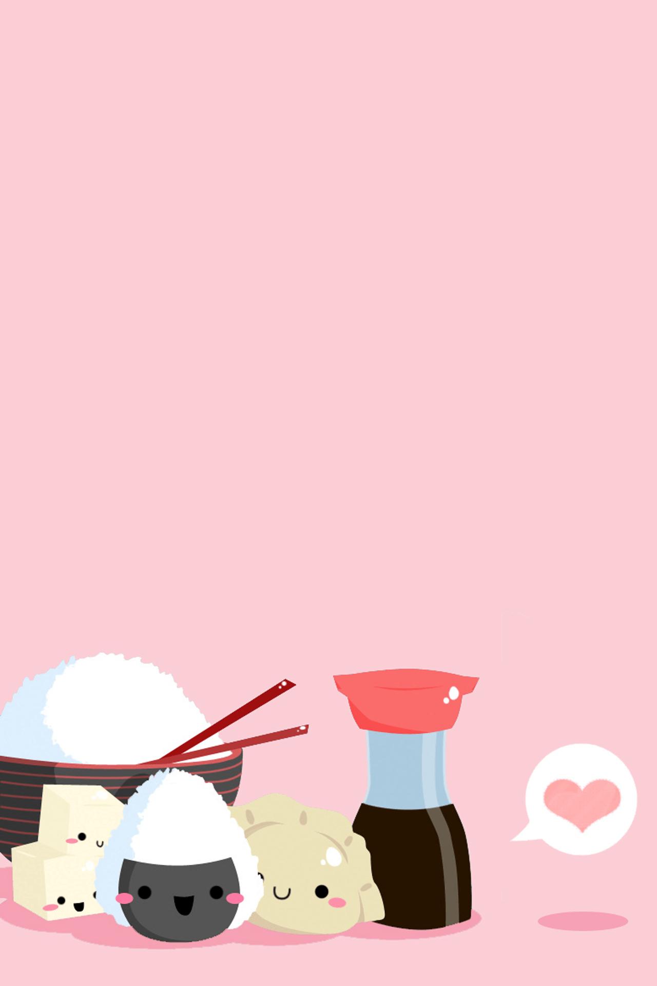 Kawaii Sushi Wallpapers   Top Kawaii Sushi Backgrounds 1280x1920