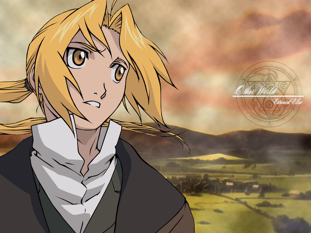 Rede Otaku Fullmetal Alchemist Brotherhood Wallpapers 1280x960