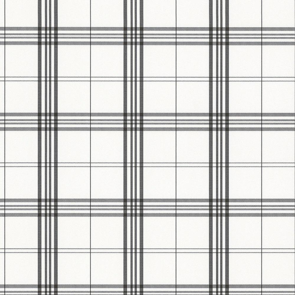 Norwall Kitchen Plaid Vinyl Strippable Roll Wallpaper Covers 56 1000x1000