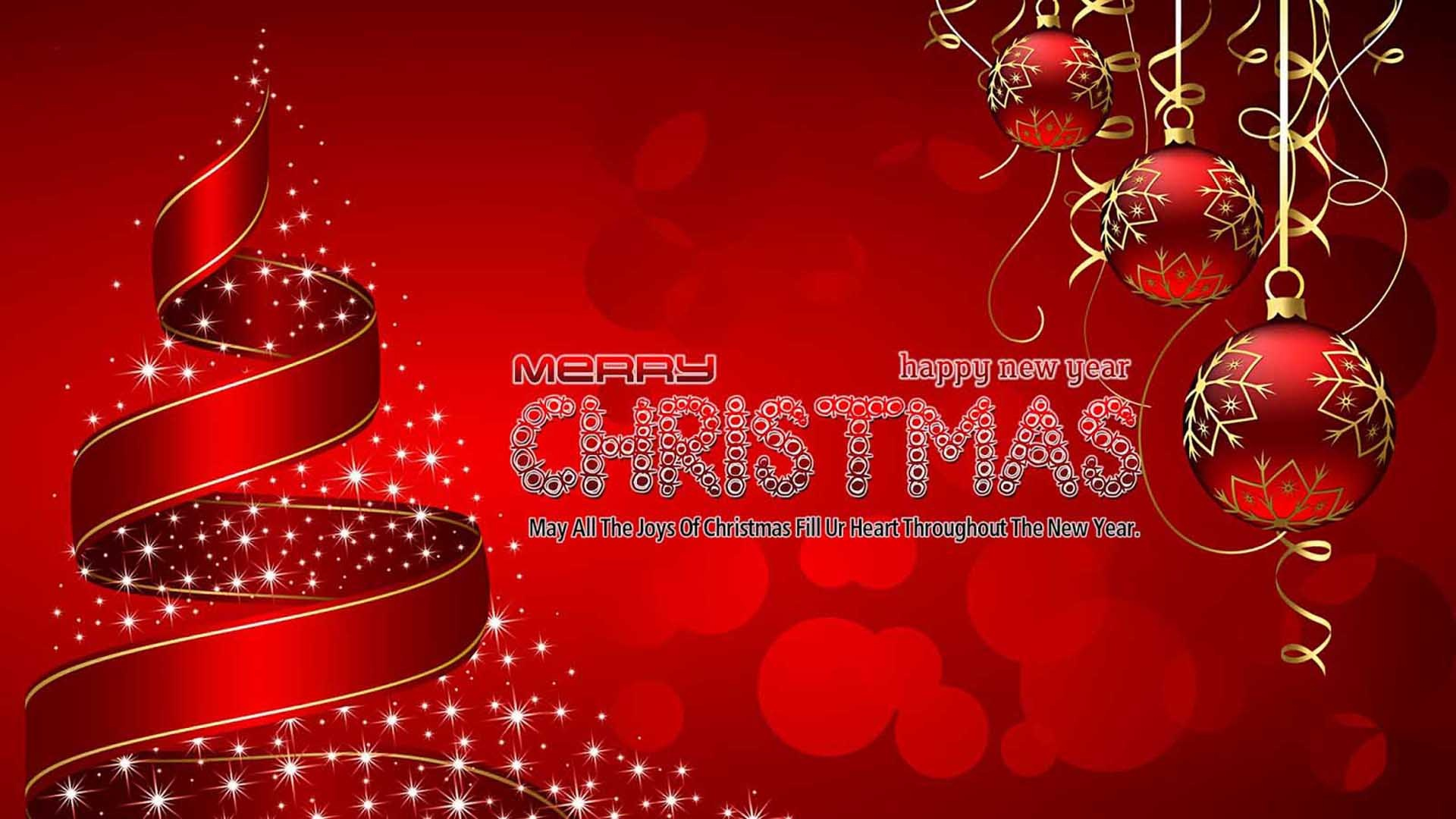 Merry Christmas Happy New Year 2020 Christmas Greetings Desktop Hd 1920x1080