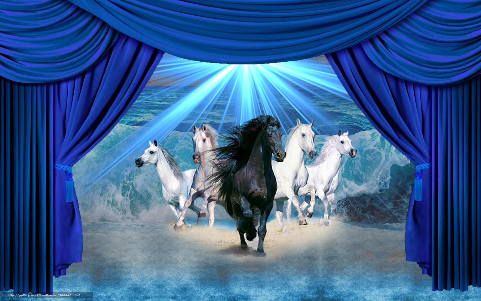 Horse Scenes Wallpaper - WallpaperSafari