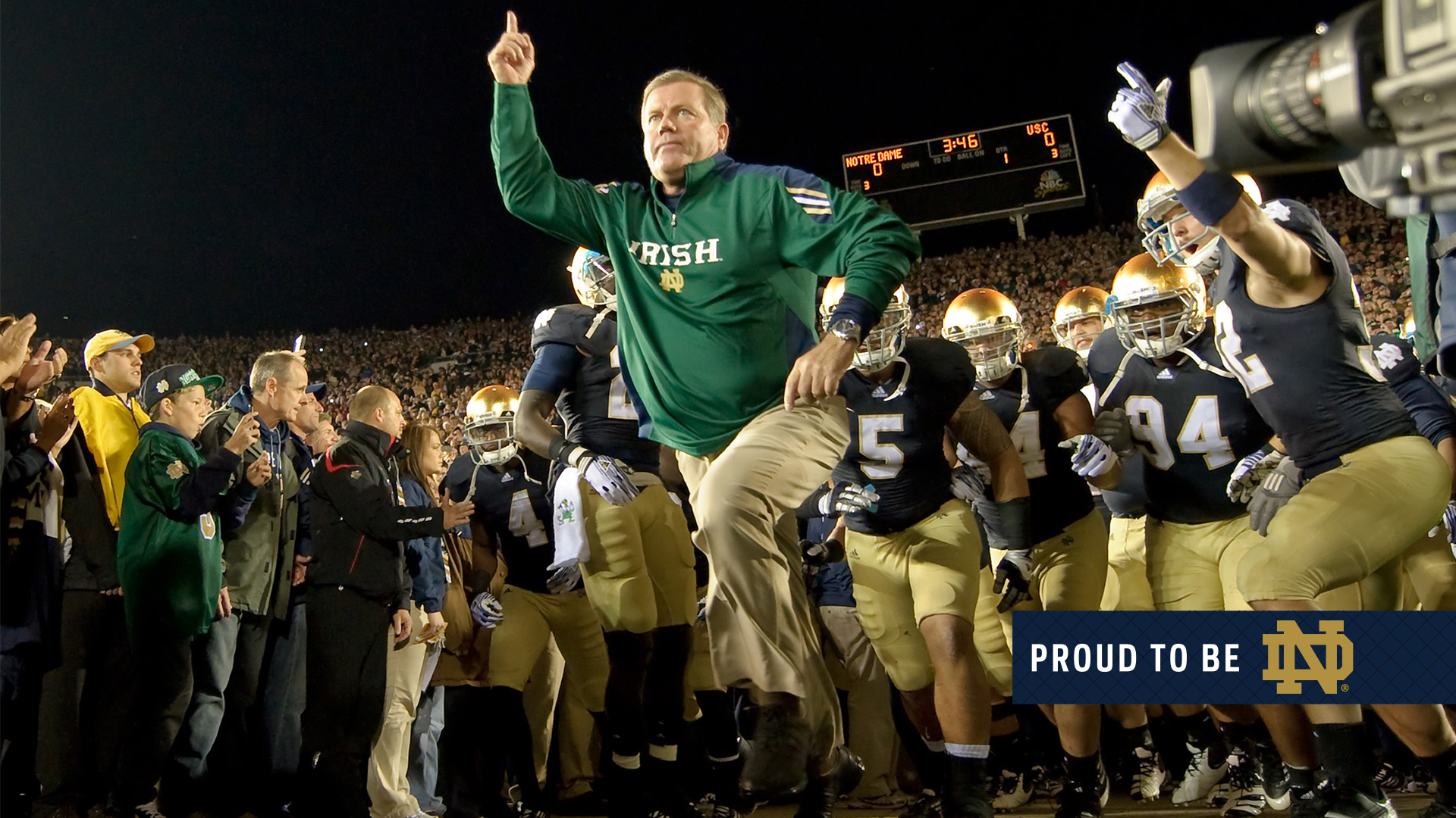Wallpapers Proud to Be ND University of Notre Dame 1920x1080