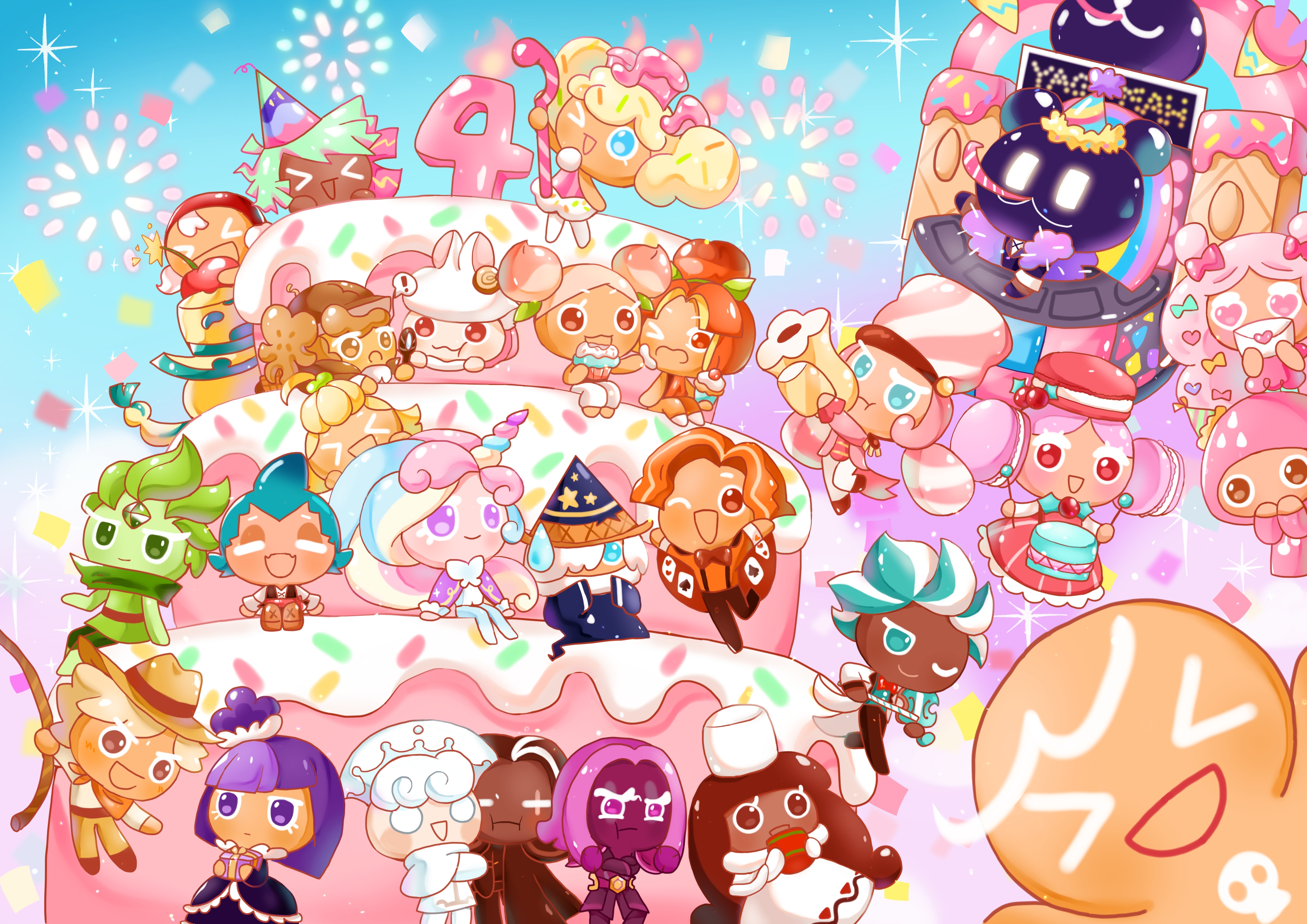 Moon Rabbit Cookie   Cookie Run   Zerochan Anime Image Board 4093x2894