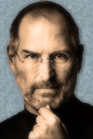 Steve Jobs iPhone WallpapersiPhone BackgroundsiPod touch 320x480