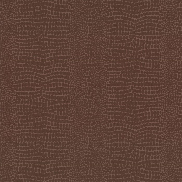 Graham Brown Graham Brown Crocodile Wallpaper Chocolate Brown 700x700
