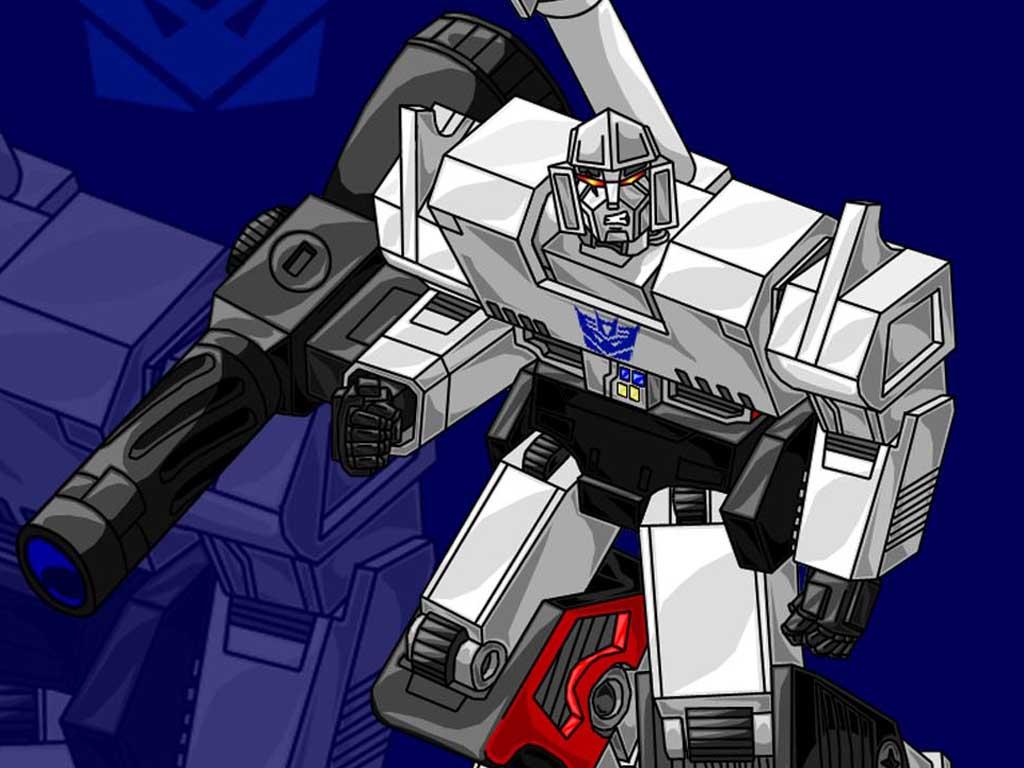 Top Cartoon Wallpapers Transformers Megatron Wallpaper 1024x768