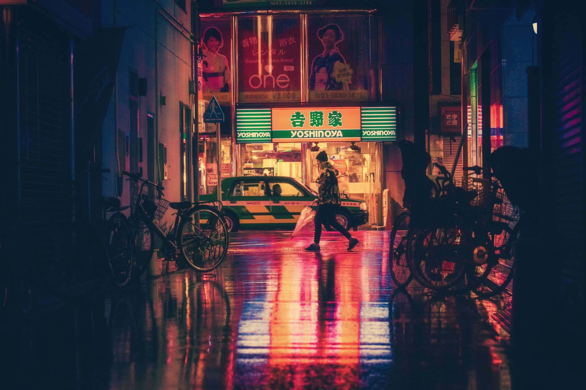 Japanese Street Wallpapers   Top Japanese Street Backgrounds 2048x1362