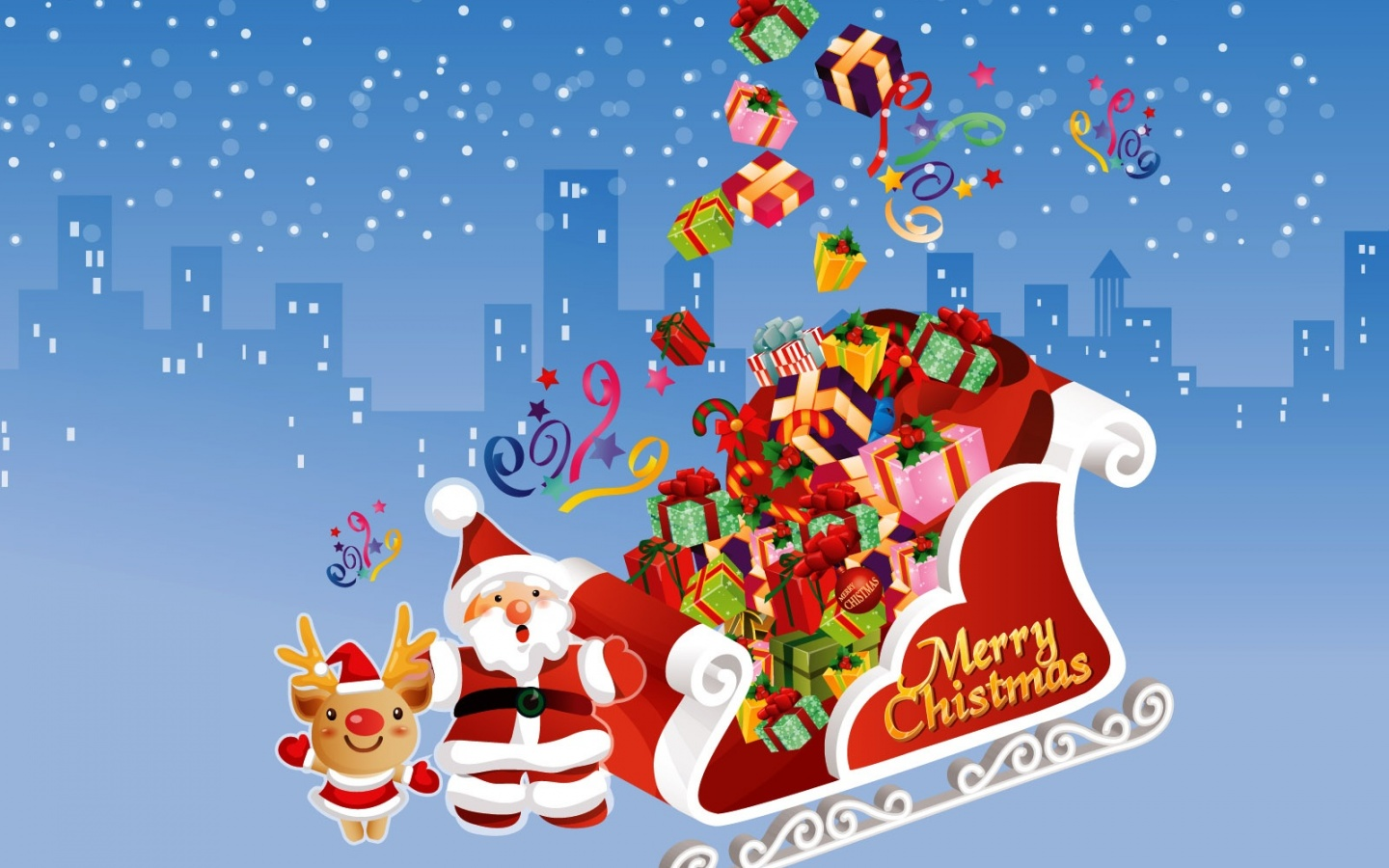 Pics Photos   Merry Christmas Wallpapers 1440x900