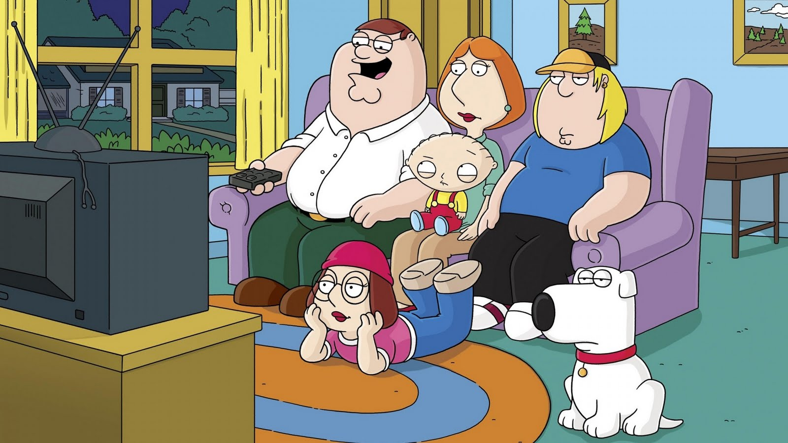 Family Guy HD Desktop WallpapersHigh Resolution Backgrounds for your 1600x900