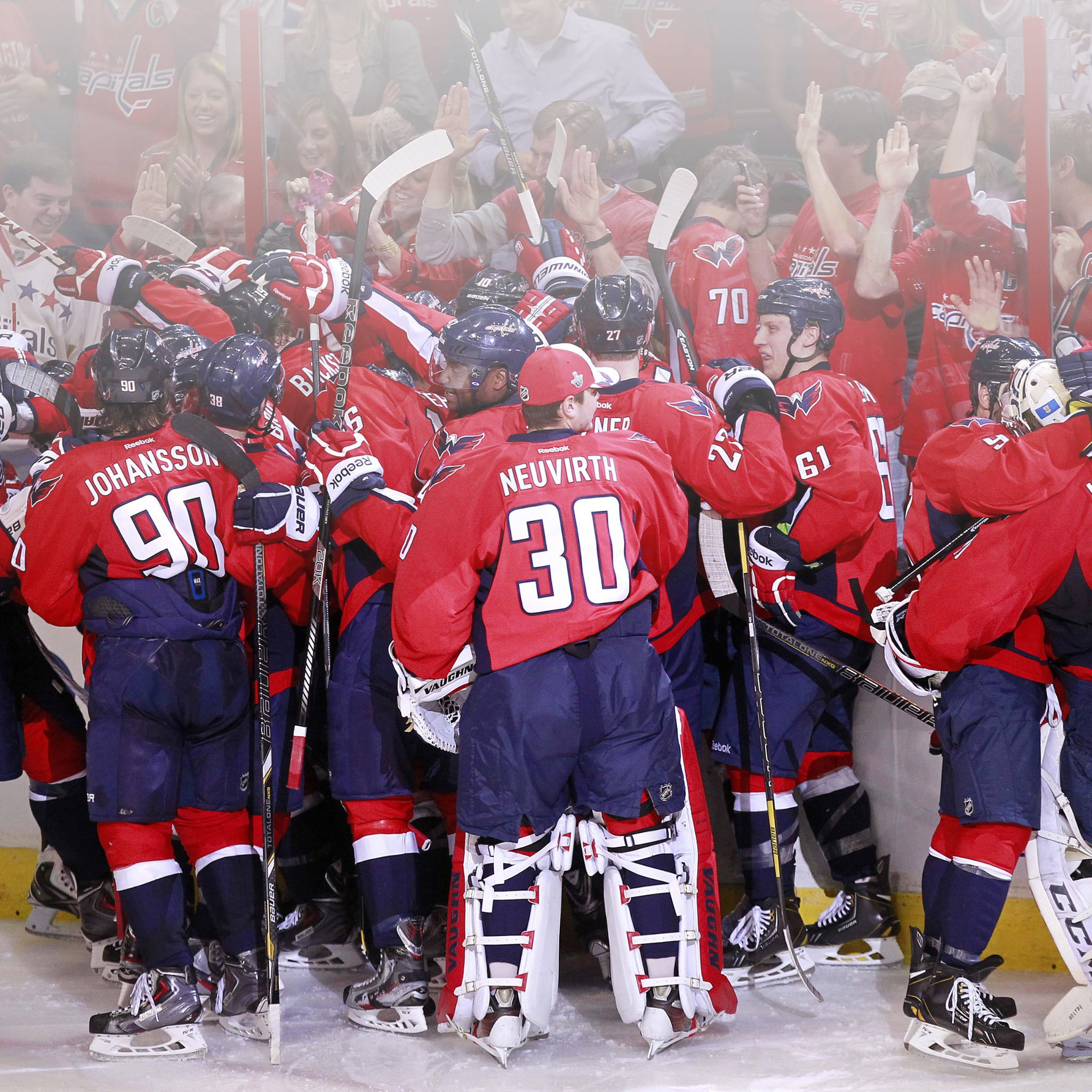 FREEIOS7 washington capitals   parallax HD iPhone iPad wallpaper 2048x2048