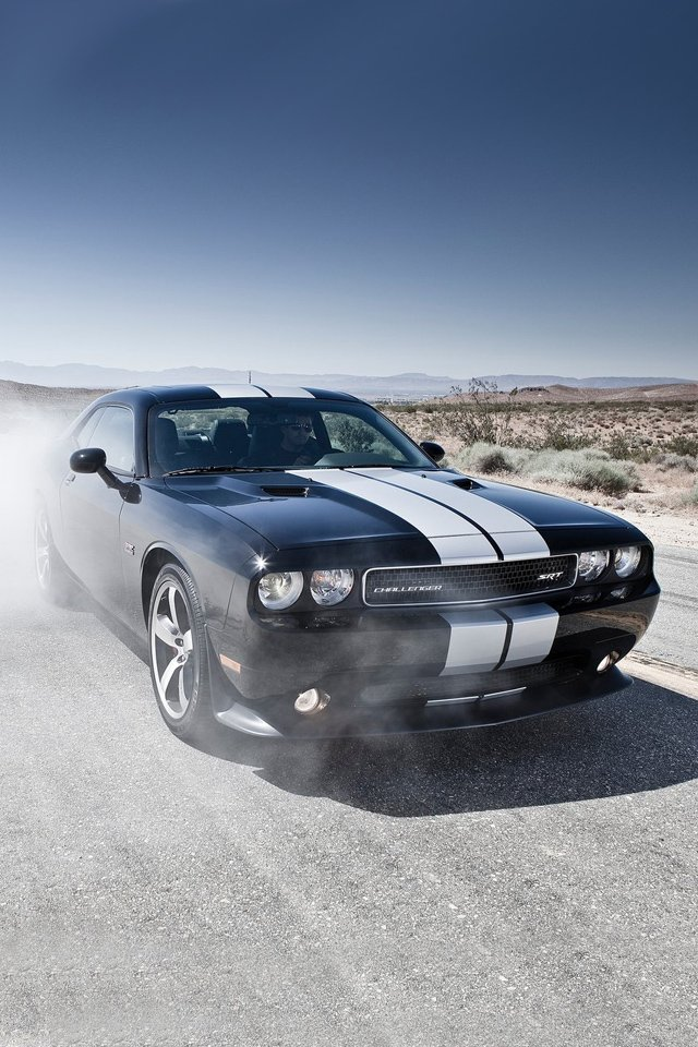 Dodge Challenger SRT8 392 car on iPhone HD Wallpapers Dodge Challenger 640x960