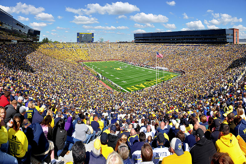 Michigan Wolverines Football Wallpaper   Big Ten Football Online 800x534