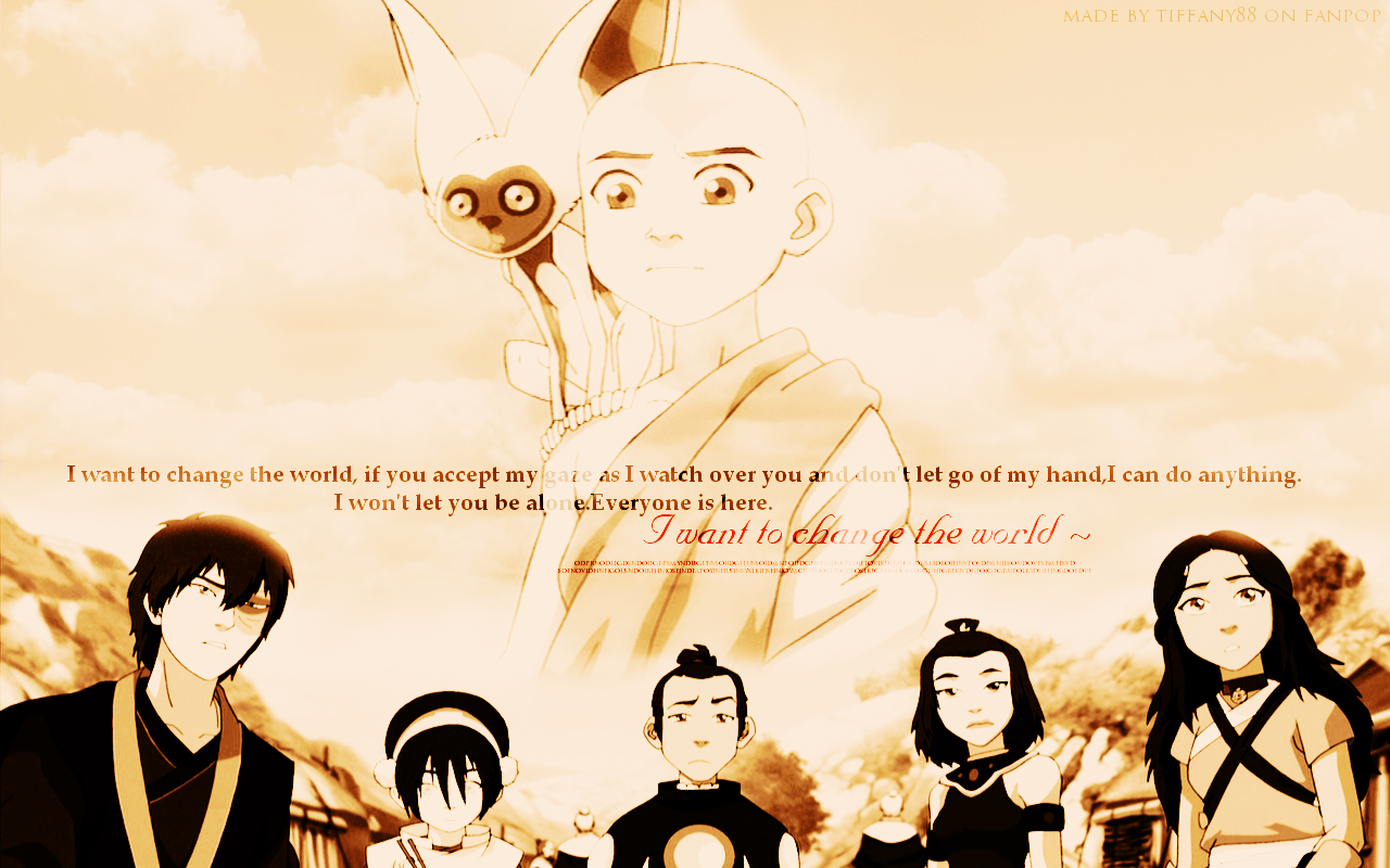 Free Download Avatar The Last Airbender Wallpapers 1280x800 For