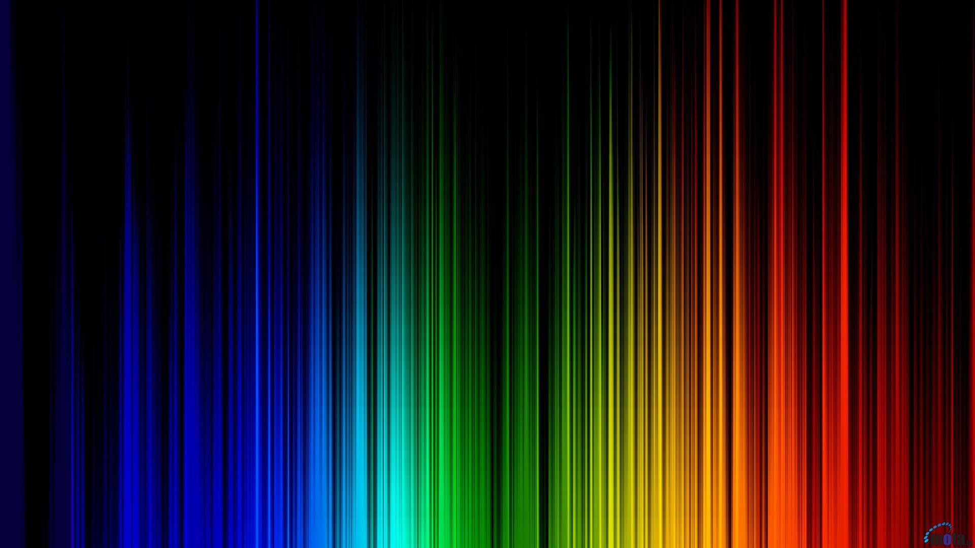 Rainbow Wallpaper: Rainbow Colored Wallpaper