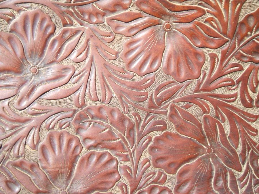 Western Tooled Wallpaper Wallpapersafari