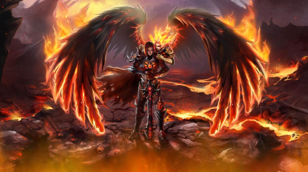 Fallen Angels Animated Wallpaper   DesktopAnimatedcom 1209x675