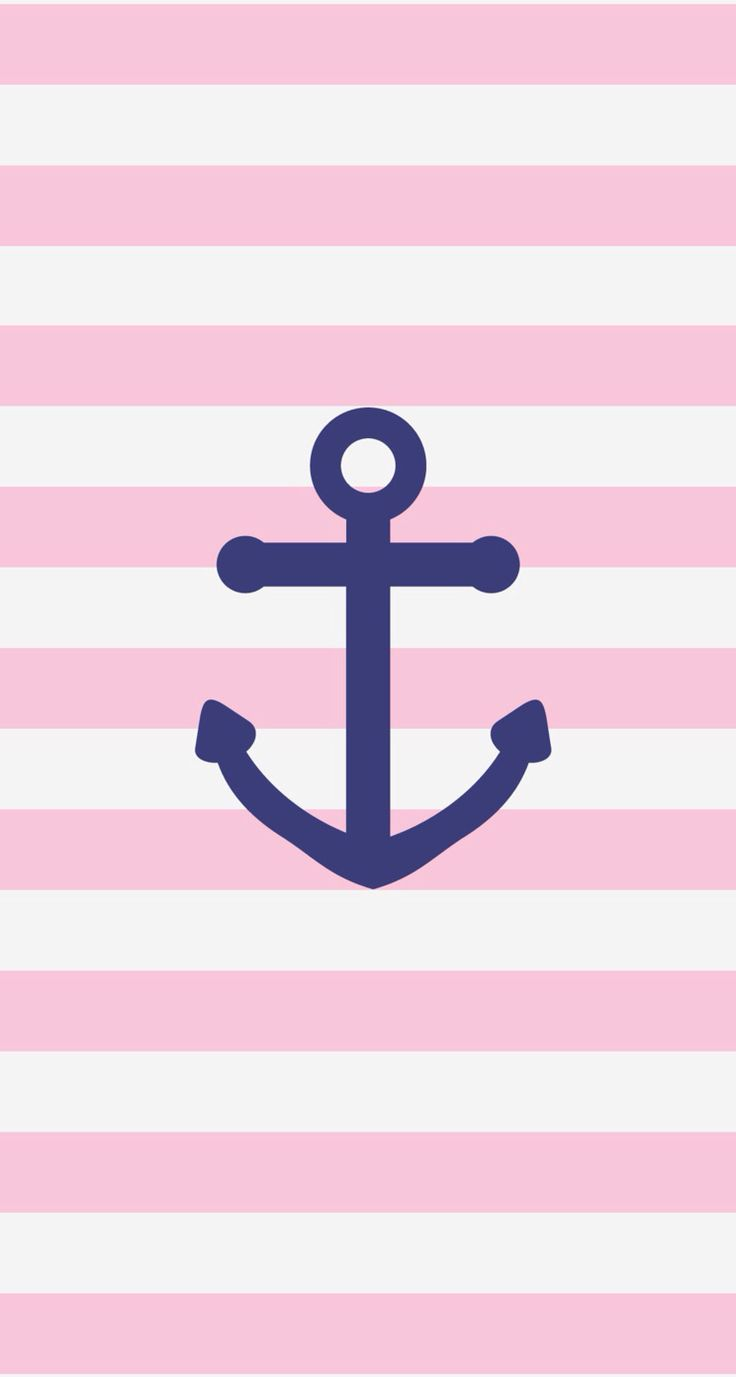 Pink Stripes Wallpapers Backgrounds Navy Anchor Anchors Backgrounds 736x1377