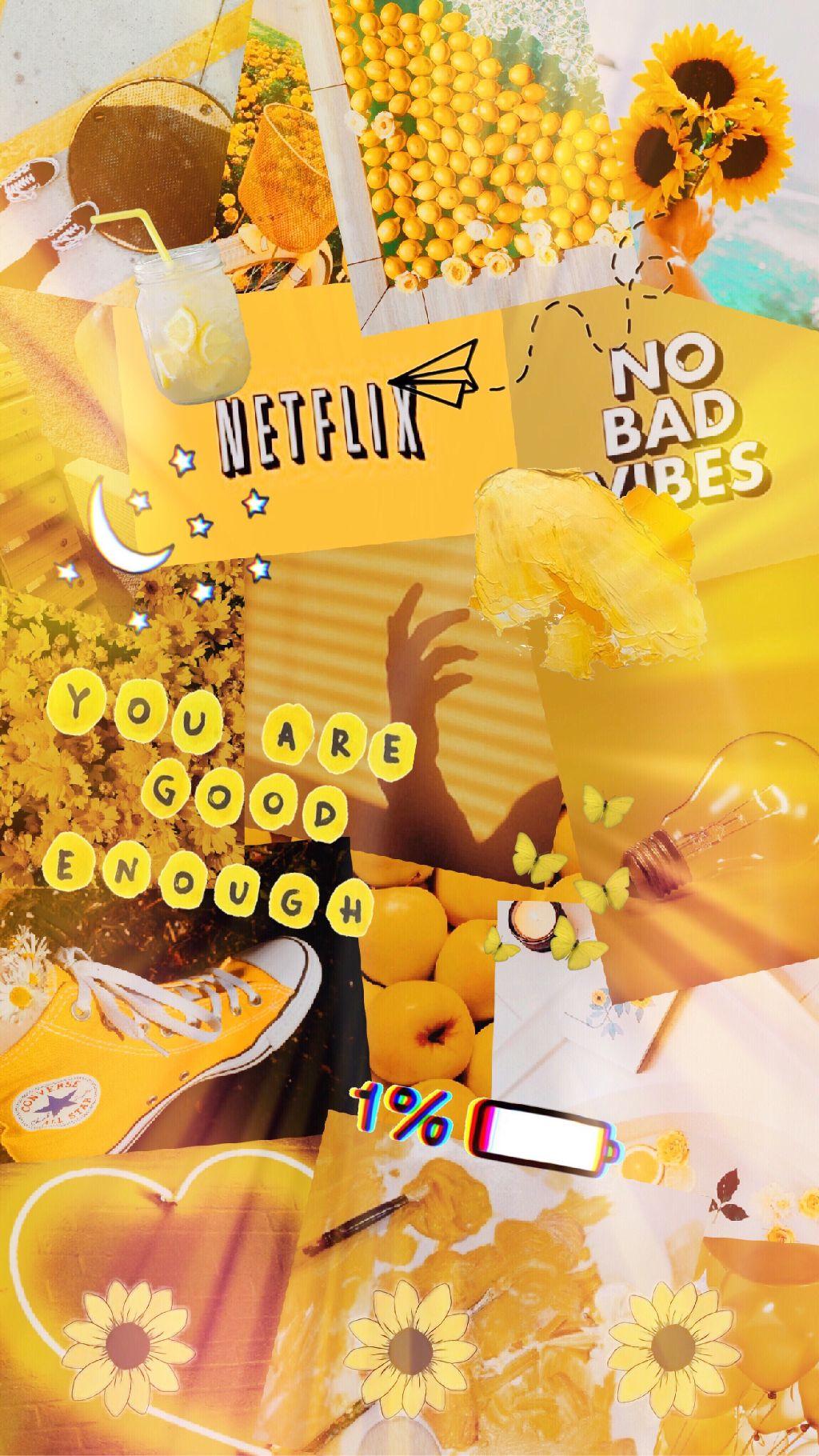 [47+] Yellow Aesthetic Wallpaper on WallpaperSafari