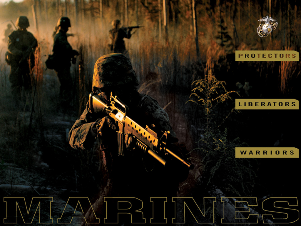 Marines Realm Semper Fi 1024x768