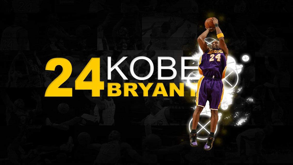 NBA Wallpapers   Download Kobe Bryant HD Wallpapers for iPhone 5 1136x640