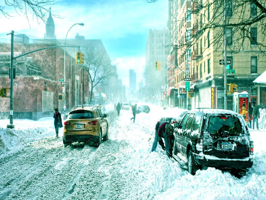 City And Winter Scenes Wallpapers 1024x768 pixel City HD Wallpaper 1024x768