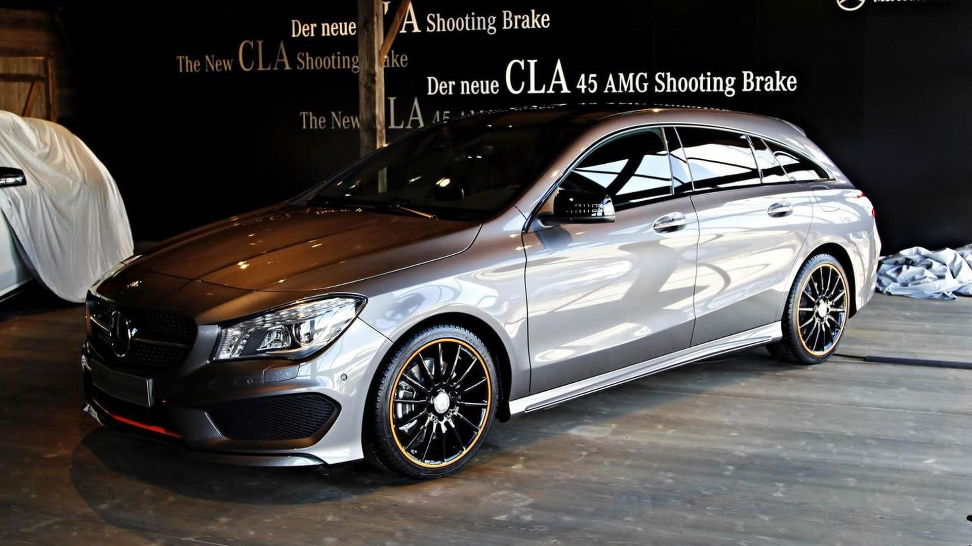 Mercedes Benz CLA Shooting Brake returns in live images 1920x1080