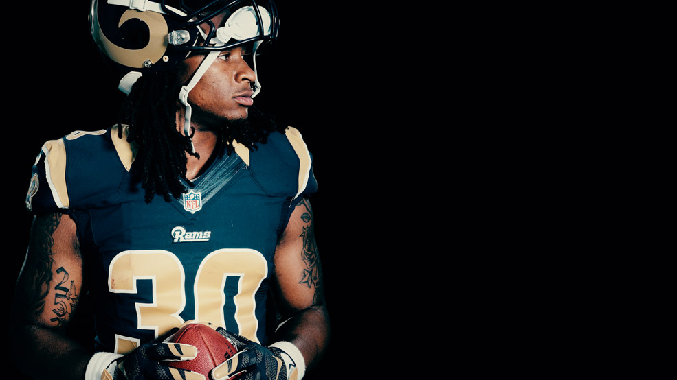 todd gurley wallpaper rams