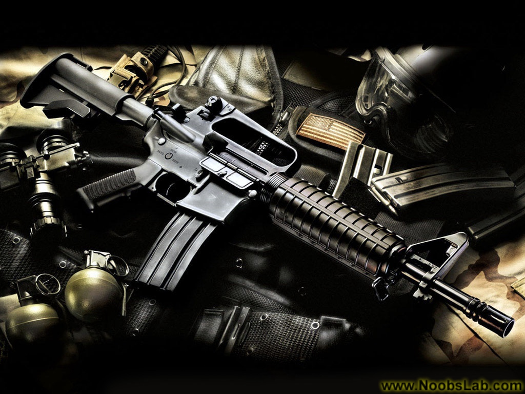 HD Guns Wallpapers   NoobsLab UbuntuLinux News Reviews Tutorials 1024x768