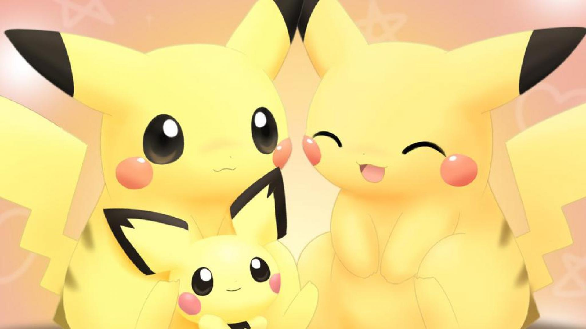 Pikachu family   110661   High Quality and Resolution Wallpapers on 1920x1080