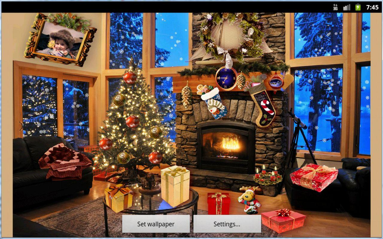 Christmas Fireplace LWP   Android Apps on Google Play 1280x800