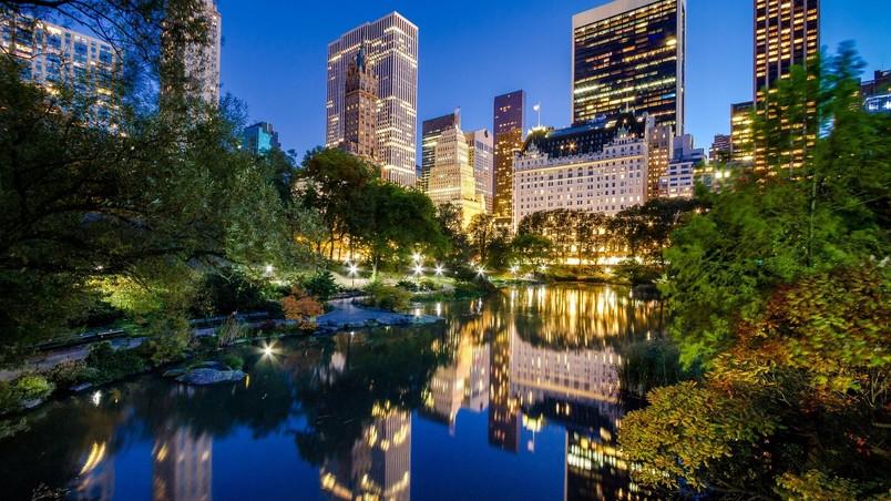 Central Park New York HD Wallpaper   WallpaperFX 804x452